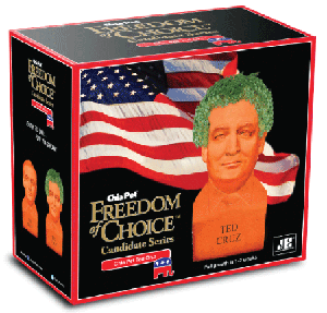 Chia Pets® Freedom of Choice Candidate Series Ted Cruz Chia Pet