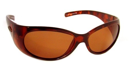 Officially Licensed Sea Striker 'Weekender' Tortoise Brown Ladies Sunglasses