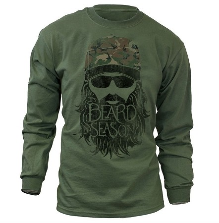 It's Beard Season Long Sleeve T-Shirt