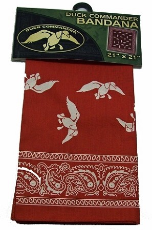 Wholesale Duck Commander Bandana Orange