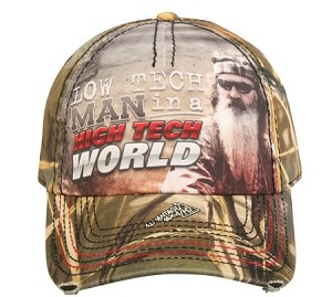 DUCK DYNASTY CAP LOW TECH MAN HIGH TECH WORLD  REALTREE MAX-4