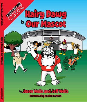 "SEC Football University of Georgia Bulldogs ""Hairy Dawg is our Mascot"" Children's Book"