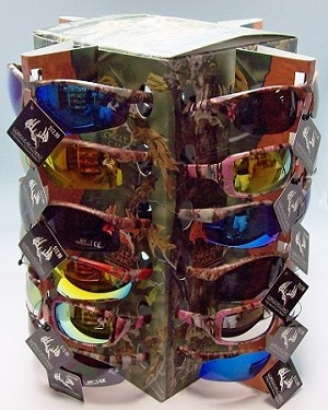 Longleaf Sunglass Assorted Display 24CT