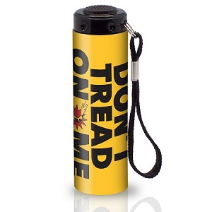"2nd Amendment ""Don't Tread on Me"" 9 LED Flashlight"