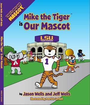 "SEC Football Louisiana State University ""Mike the Tiger is our Mascot"" Children's Book"