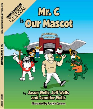 "SEC Football Vanderbilt University Commodores ""Mr. C is our Mascot"" Children's Book"