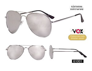 VOX Fashion Chrome Mirrored Sunglasses