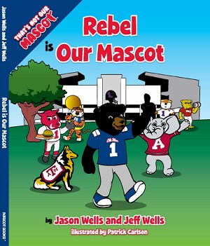 "SEC Football University of Mississippi Ole Miss Rebels ""Rebel is our Mascot"" Children's Book"