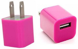 Ever Tech USB Wall Charger assorted colors