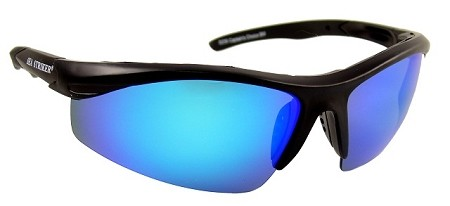Sea Striker brand Captain's Choice blue mirrored sunglasses