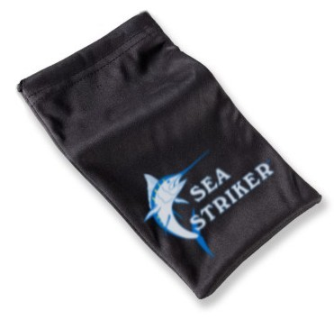 Sea Striker brand sunglasses pouch