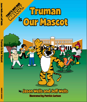 "SEC Football University of Missouri Tigers ""Truman is our Mascot"" Children's Book"