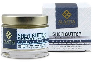 Alaffia Handcrafted Shea Butter, 2oz. Unscented