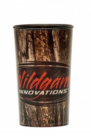 Wholesale Wildgame Innovations Treebark logo 22 oz. souvenir cup