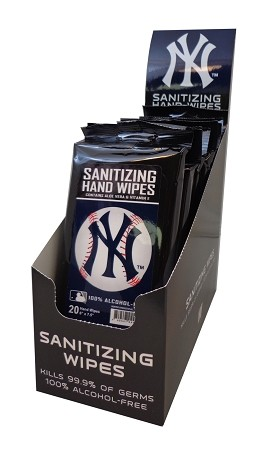 12ct Sanitizing Wipes Counter Display PDQ
